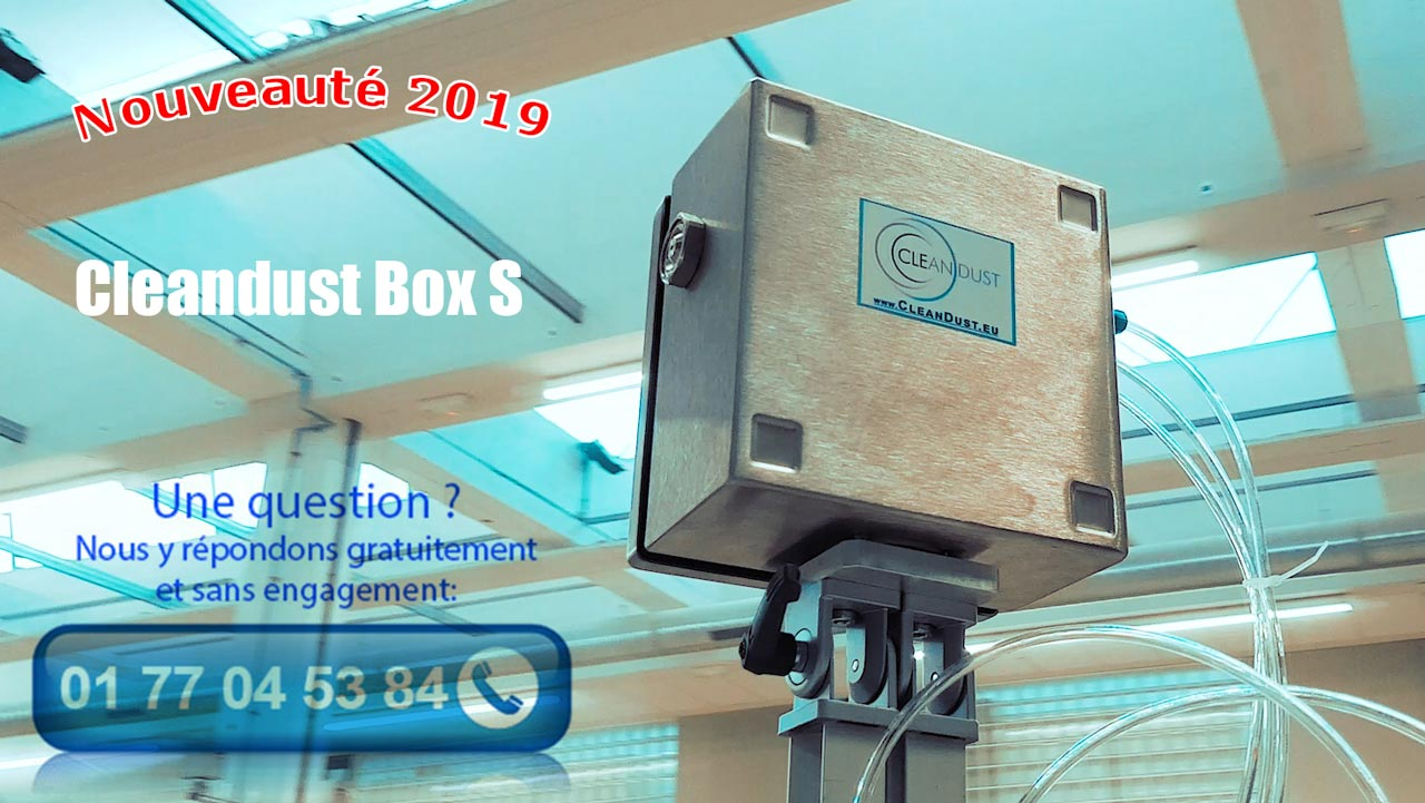 Présentation de la Cleandust Box S